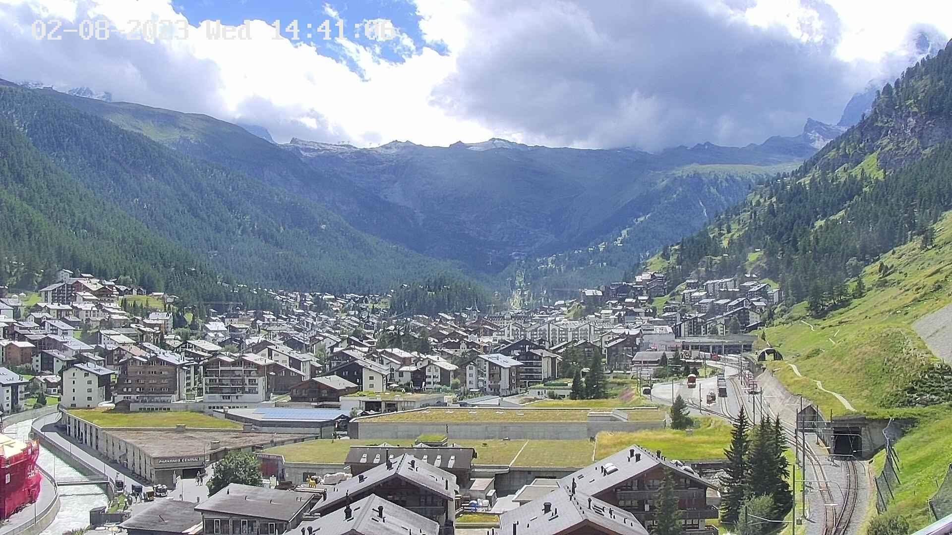 Webcam Spiss Zermatt